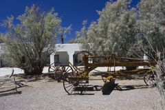 Entrare nel Death Valley Immagini Stock