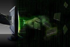 Entrare nel mondo del commercio elettronico Immagini Stock