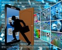 Entrata ad Internet Fotografie Stock Libere da Diritti