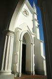 Entrata ad una chiesa Fotografia Stock Libera da Diritti