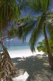 Entrata ad una di migliori spiagge della bianco-sabbia Immagine Stock