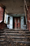 Entrata ad una vecchia casa Fotografia Stock Libera da Diritti
