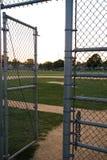Entrata al campo di baseball Immagine Stock Libera da Diritti
