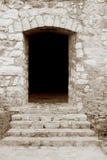 Entrata al castello Fotografie Stock Libere da Diritti