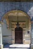 Entrata al castello Fotografia Stock Libera da Diritti