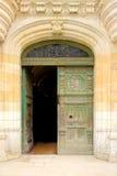 Entrata al castello de Chenonceau Chenonceaux france Immagine Stock