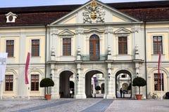 Entrata al castello di Ludwigshafen Fotografia Stock Libera da Diritti