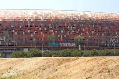 Entrata al FNB Stadium fotografia stock libera da diritti