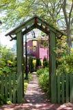 Entrata al giardino Fotografia Stock