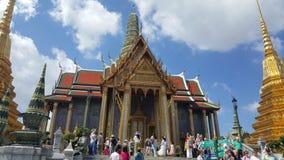 Entrata al grande palazzo, Bangkok, Tailandia immagini stock libere da diritti