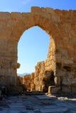 Entrata al monastero di Euthymius Immagini Stock