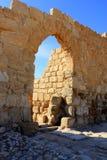 Entrata al monastero di Euthymius Fotografie Stock