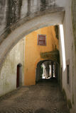 Entrata al palazzo Immagine Stock