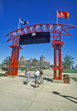 Entrata al pilastro della marina, Chicago, Illinois Immagine Stock