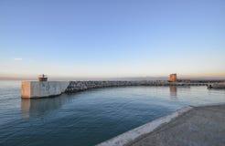 Entrata al porto Immagine Stock Libera da Diritti