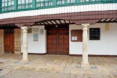 Entrata al teatro di Almagro, Spagna Fotografie Stock Libere da Diritti