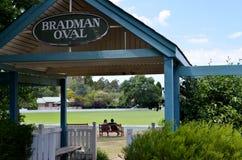 Entrata all'ovale del cricket di Bradman immagine stock libera da diritti