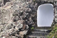 Entrata alla caverna Immagini Stock