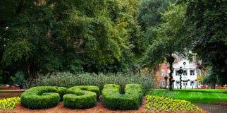 Entrata alla Georgia Southern University fotografie stock libere da diritti