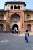 Entrata alla tomba di Safdarjung fotografia stock libera da diritti