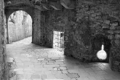 Entrata alla vecchia città di Cattaro Immagini Stock