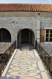 Entrata alla vecchia fortezza Immagini Stock Libere da Diritti