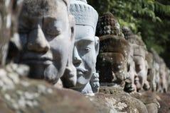Entrata Angkor Wat Immagine Stock