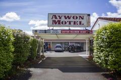 Entrata anteriore del motel Immagine Stock Libera da Diritti