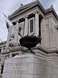 Entrata anteriore del museo di Boston di di arti Fotografie Stock Libere da Diritti