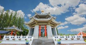 Entrata cinese del giardino archivi video