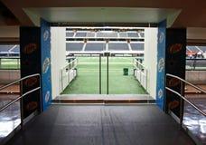 Entrata del campo dello stadio dei cowboy immagine stock libera da diritti