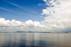 Entrata del canale di Panama Scenica fotografia stock