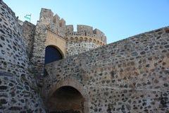 Entrata del castello di Almuñecar (Granada, Spagna) Fotografie Stock