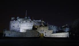 Entrata del castello di Edimburgo, Edimburgo, Scozia Fotografia Stock