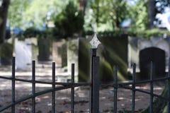 Entrata del cimitero Fotografia Stock Libera da Diritti
