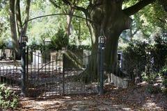 Entrata del cimitero Immagini Stock