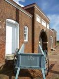 Entrata del cortile di McHenry della fortificazione Fotografia Stock Libera da Diritti