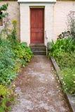Entrata del cottage Fotografia Stock