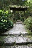 Entrata del giardino Immagini Stock