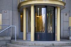 Entrata del grattacielo al quadrato di vittoria (precedentemente Daniel Willinkplein) in Amserdam Immagini Stock