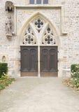 Entrata del monastero di Augustine a Erfurt Fotografia Stock Libera da Diritti