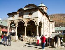 Entrata del monastero di Cozia Fotografie Stock