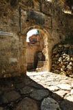 Entrata del monastero di PeriBleptos immagini stock libere da diritti