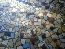 Entrata del mosaico fotografia stock libera da diritti