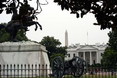 Entrata del nord a Whitehouse Fotografie Stock Libere da Diritti