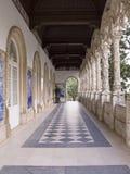 Entrata del palazzo Fotografie Stock