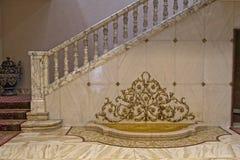 Entrata del palazzo di Ceausescu immagine stock