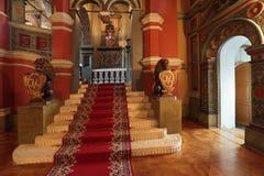 Entrata del palazzo di Terem fotografie stock libere da diritti