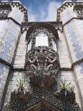 Entrata del primo piano del palazzo del cittadino di Pena fotografie stock