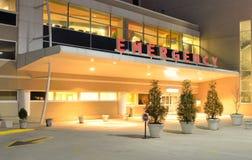 Entrata del pronto soccorso dell'ospedale Fotografie Stock